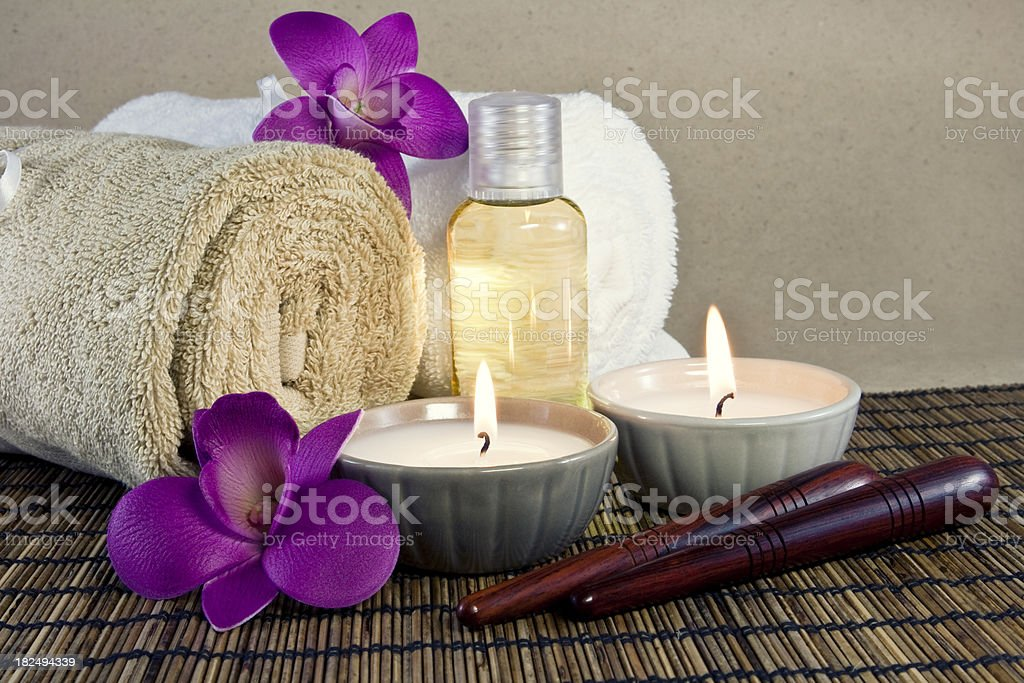 Foot Thai Massage stock photo