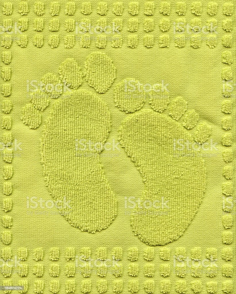 Foot Towel Background stock photo