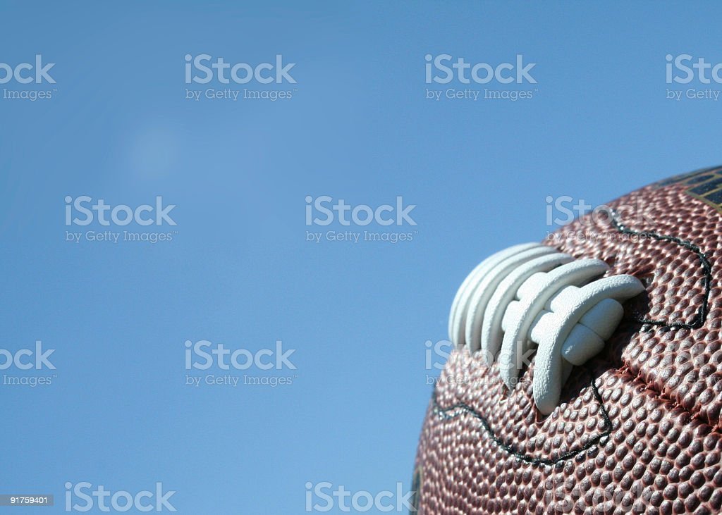 football and the sky 02 royalty-free stock photo