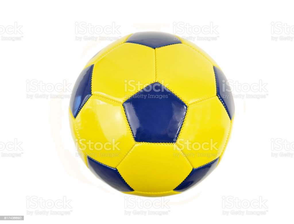 football ball isolated stock photo