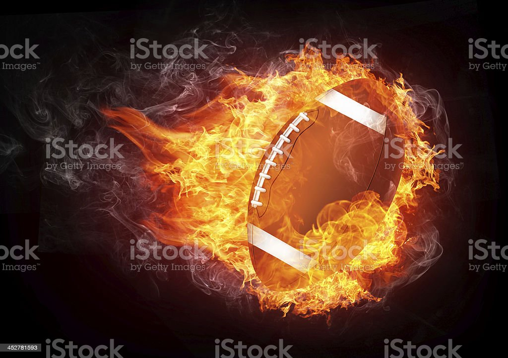 Football Ball stock photo