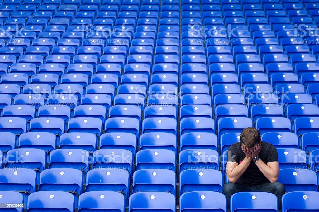 football blues stock photo