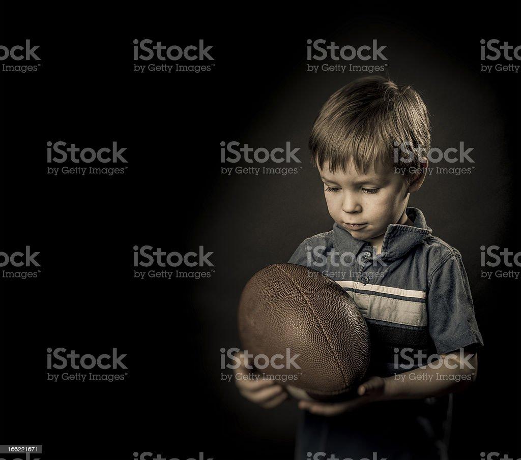 Football boy royalty-free stock photo