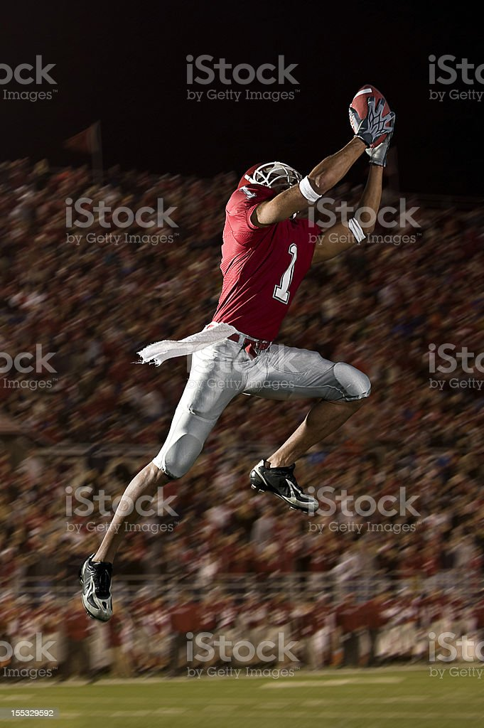 Football Catch stock photo