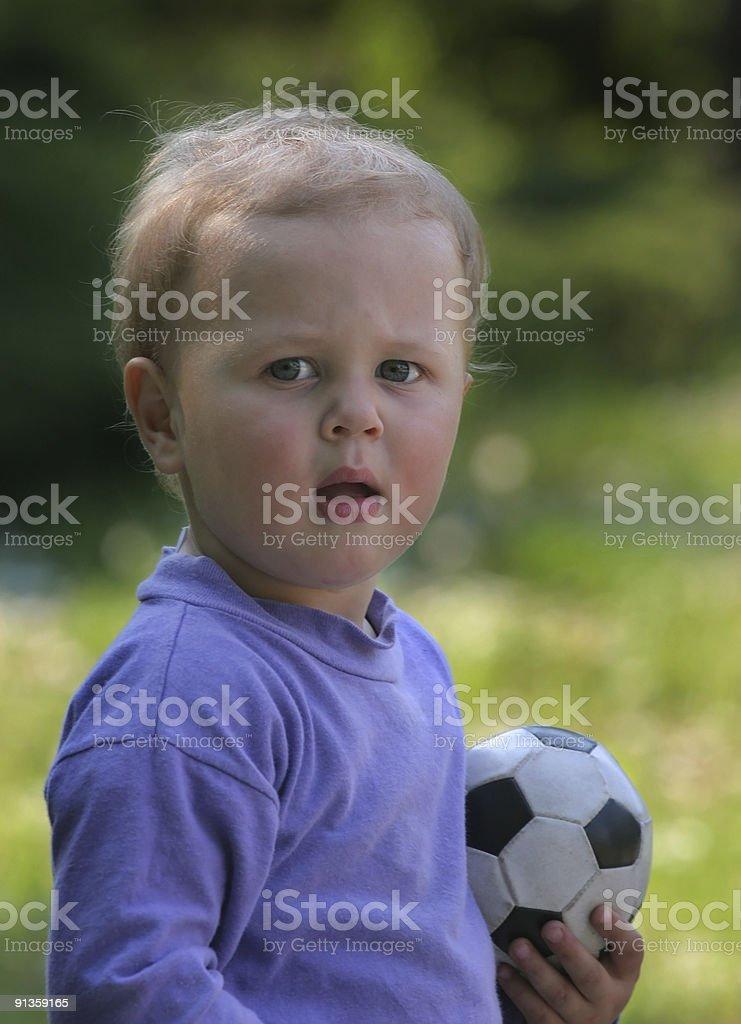 Football child royalty-free stock photo