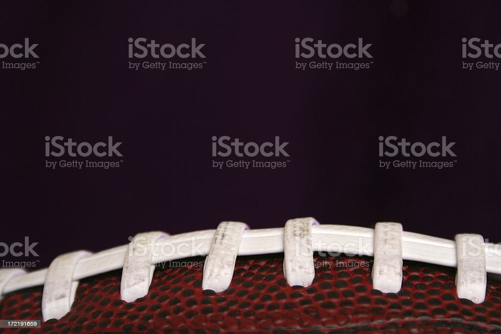 Football close up royalty-free stock photo