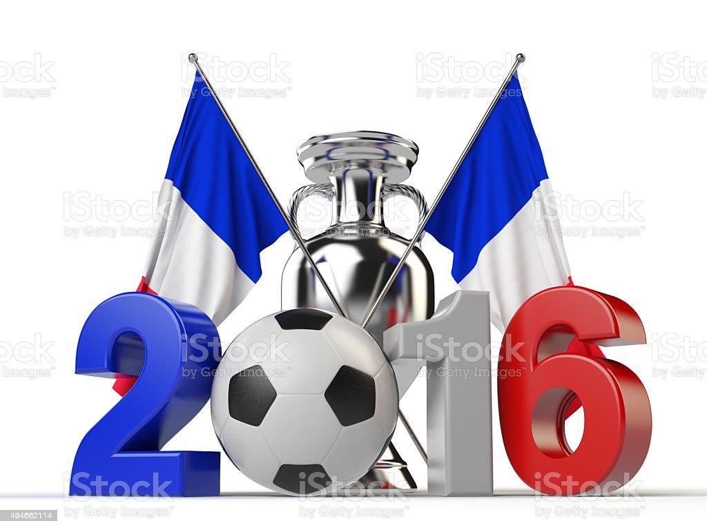 2016 Football Concept stock photo