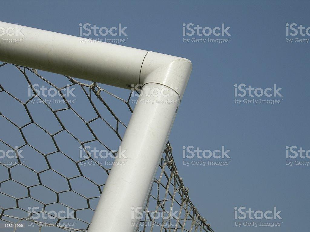 Football Corner royalty-free stock photo