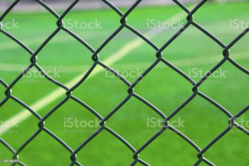 Football court royalty-free stock photo