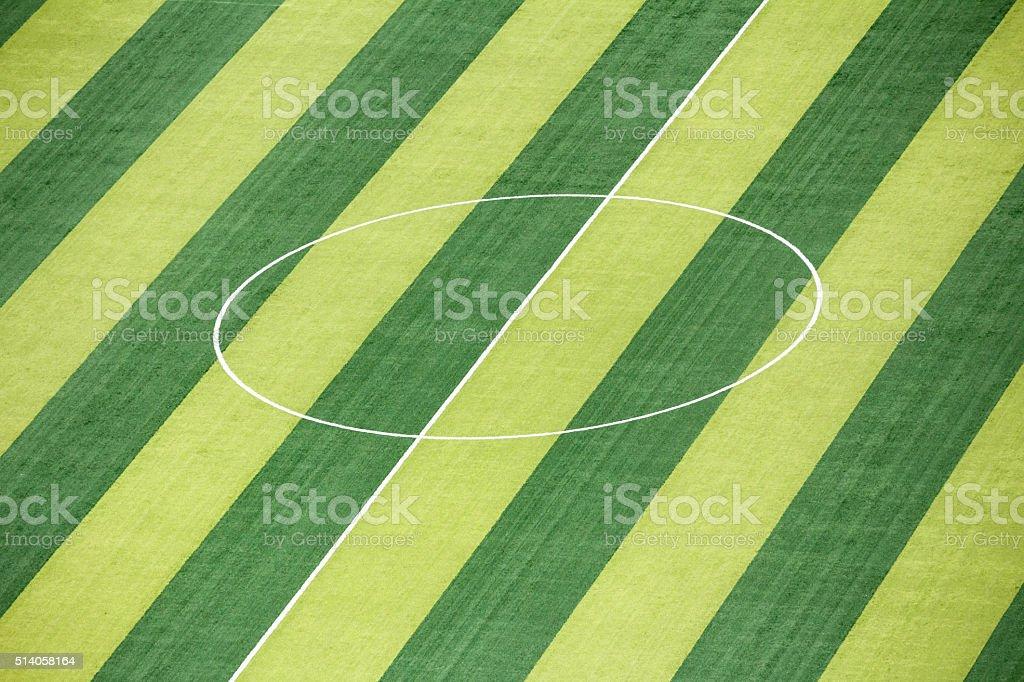 Football Court stock photo