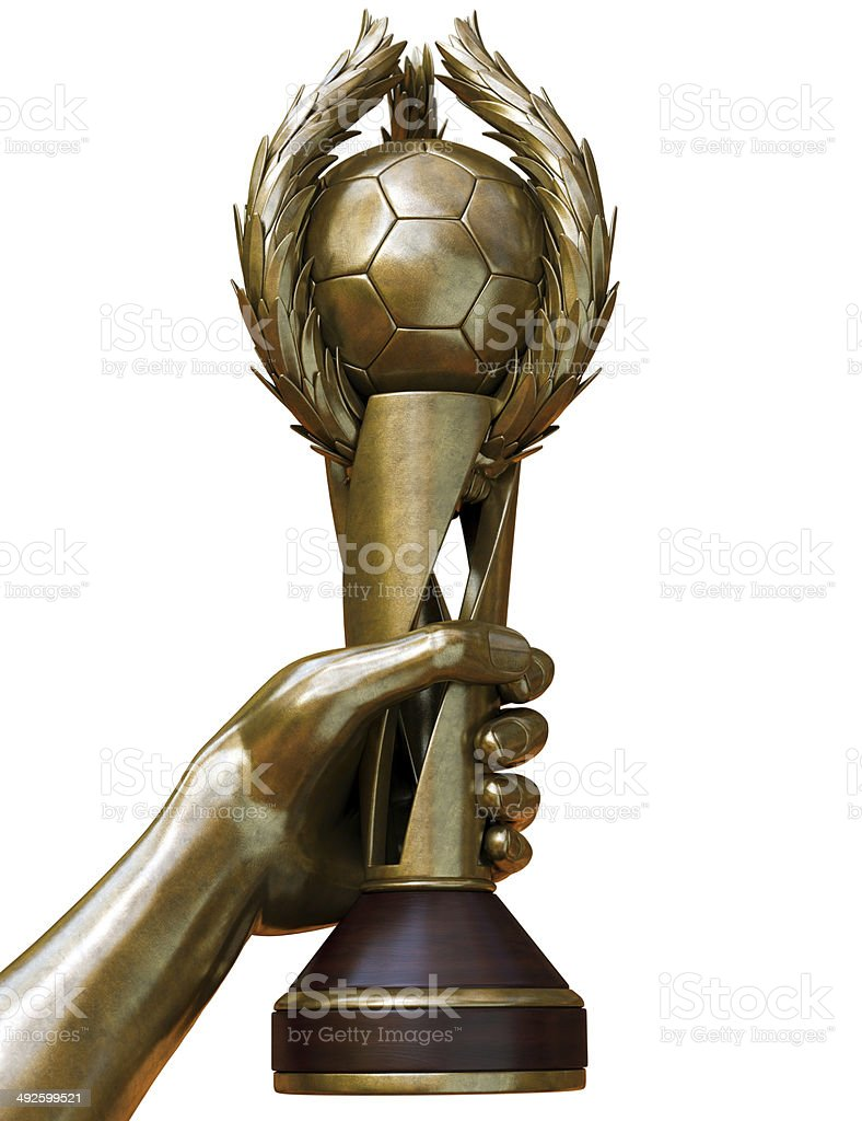 Football Cup b3 royalty-free stock photo