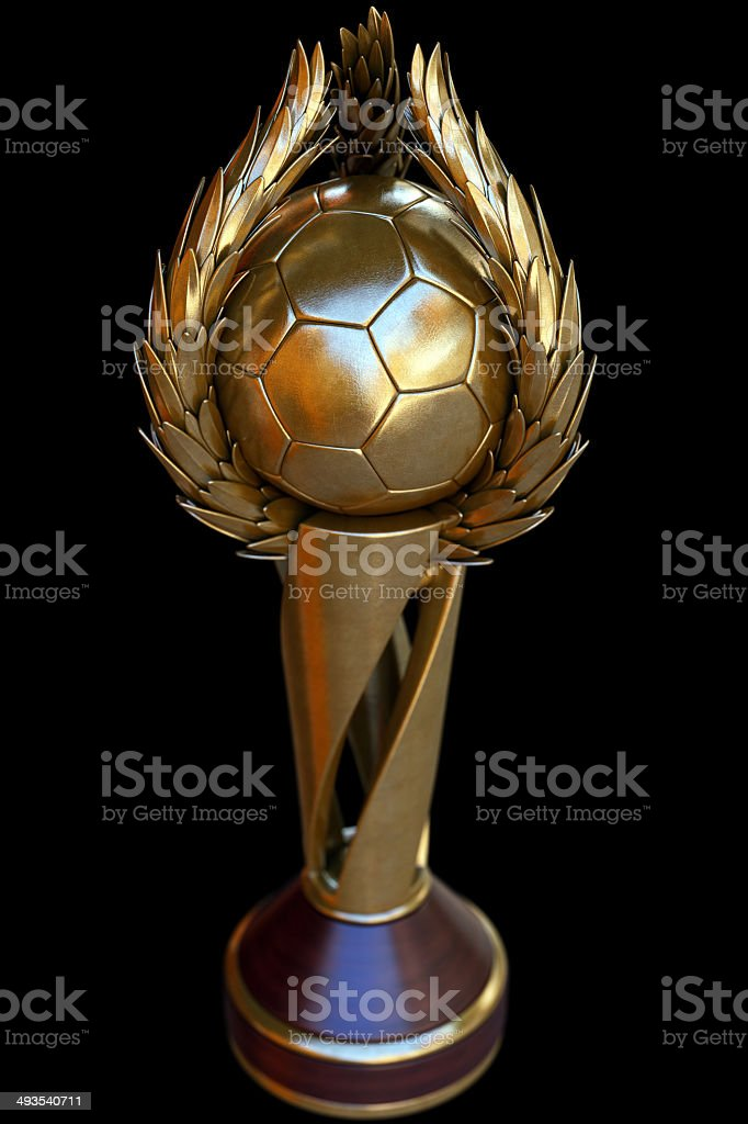 Football Cup royalty-free stock photo
