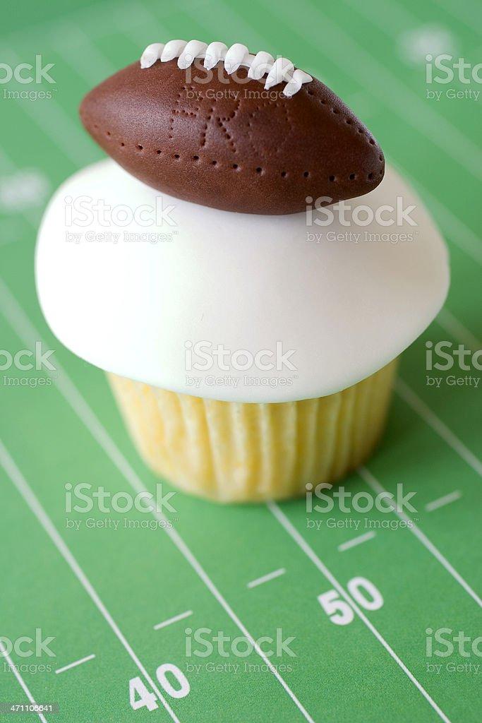 Football Cupcake 2 stock photo