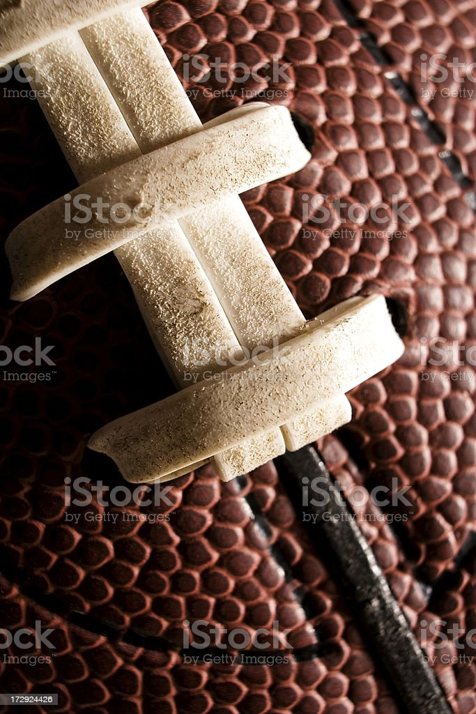 Football Detail royalty-free stock photo