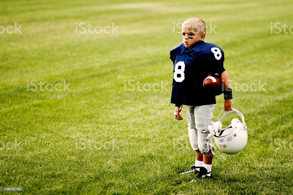 Football Dreams stock photo