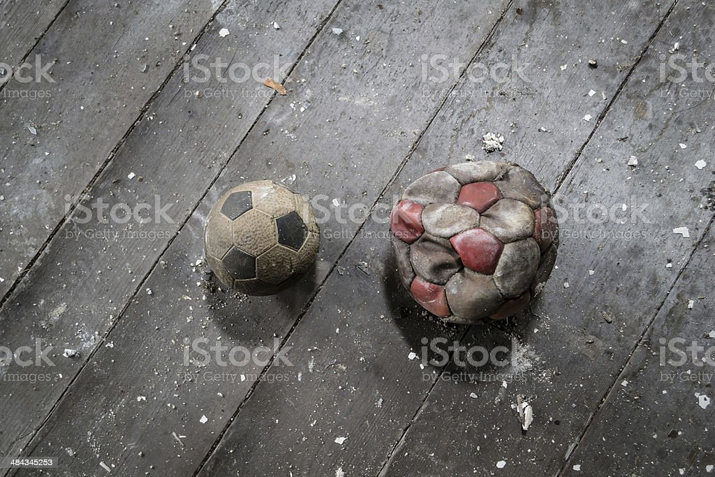 Fu?Ÿball Duell stock photo