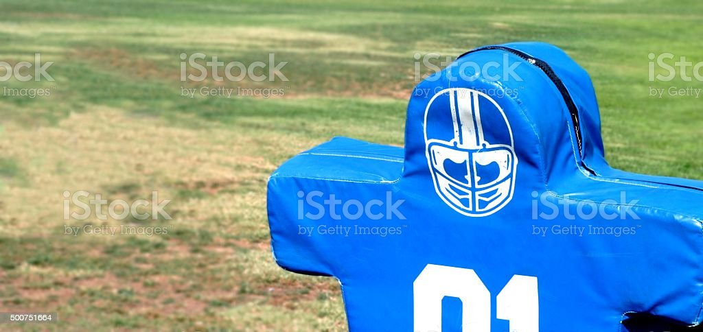 Football Dummy stock photo