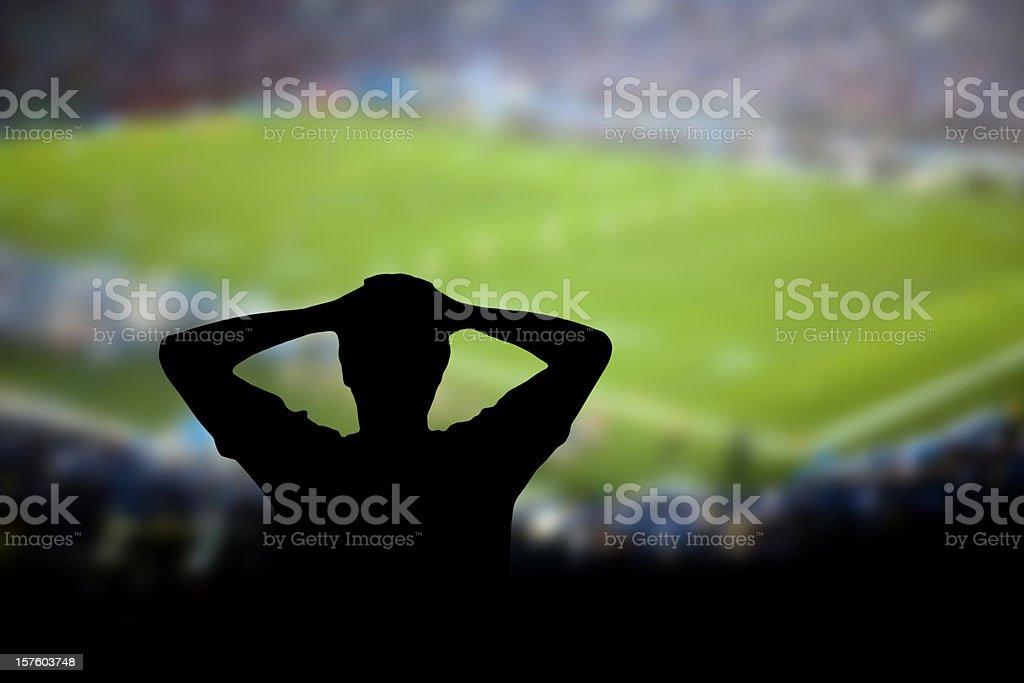 Football Failure stock photo