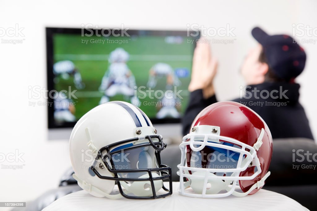 Football Fan royalty-free stock photo