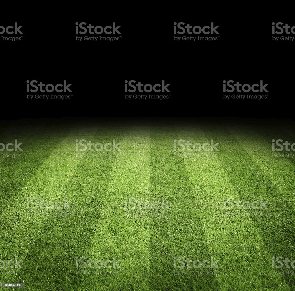 Football field background stock photo