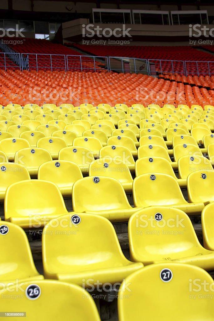 football field royalty-free stock photo