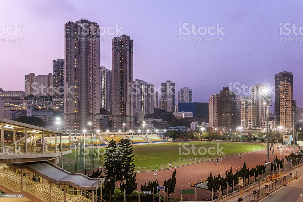 Campo di Calcio stock photo