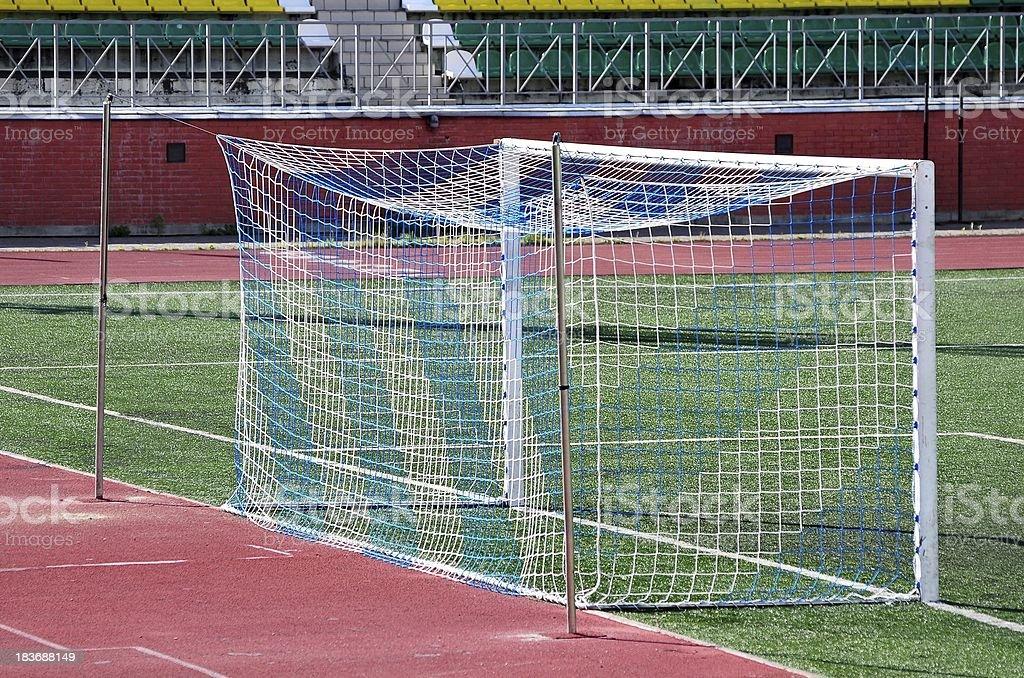 Football gate. royalty-free stock photo