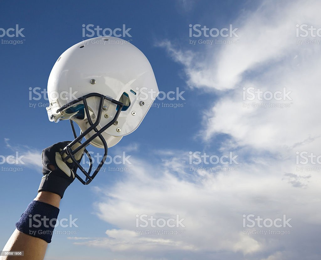 Football Helmet Triumph (Extra Large) stock photo