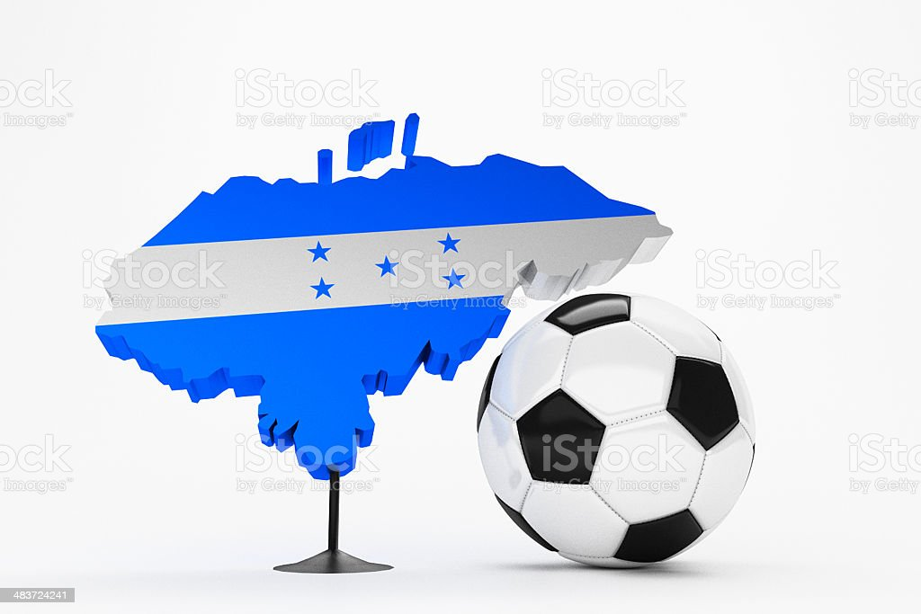 Fussball - Honduras stock photo