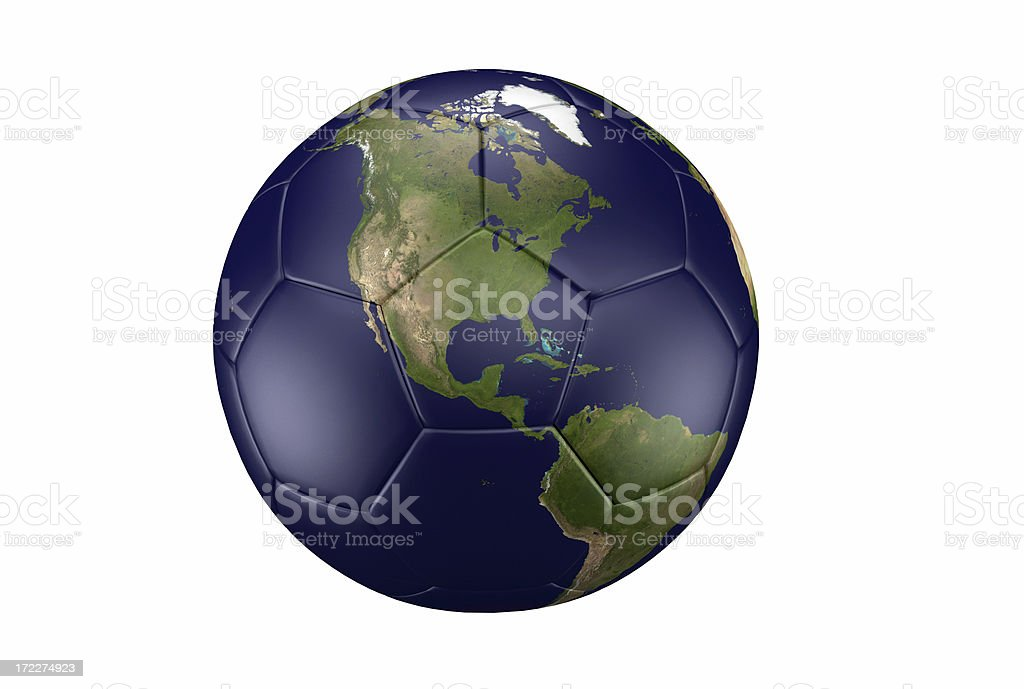Football is World royalty-free stock photo
