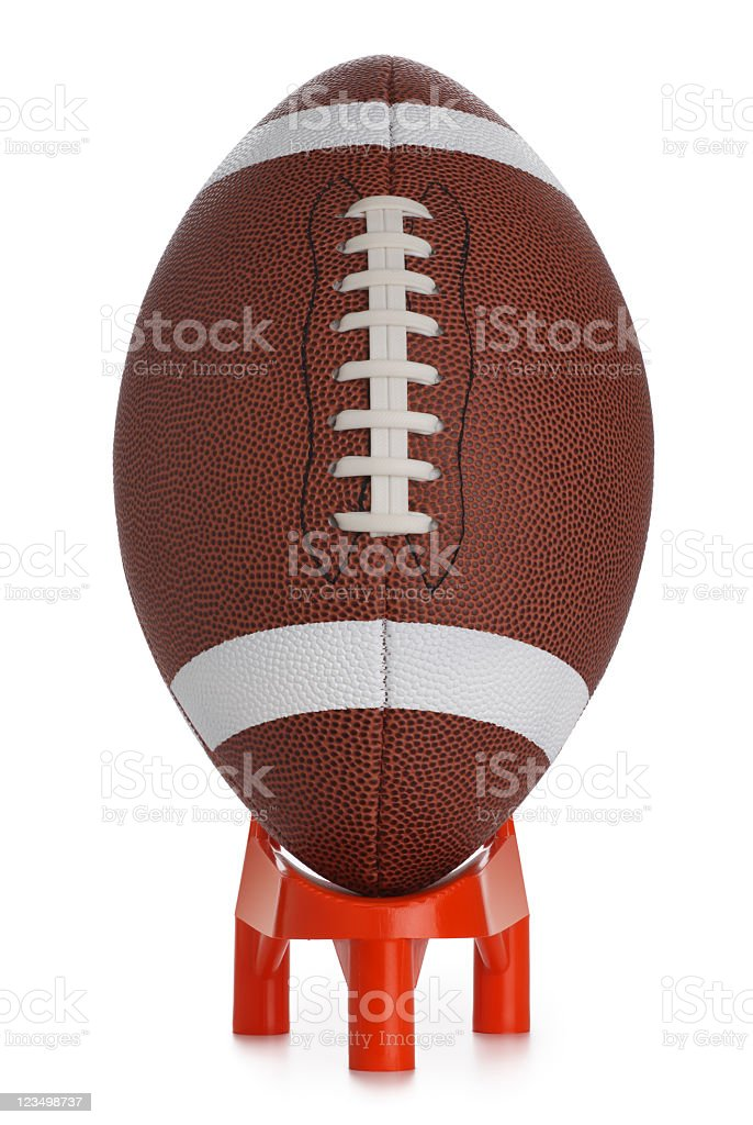 Football Kickoff stock photo