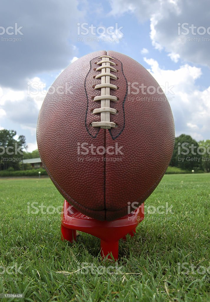football kickoff royalty-free stock photo