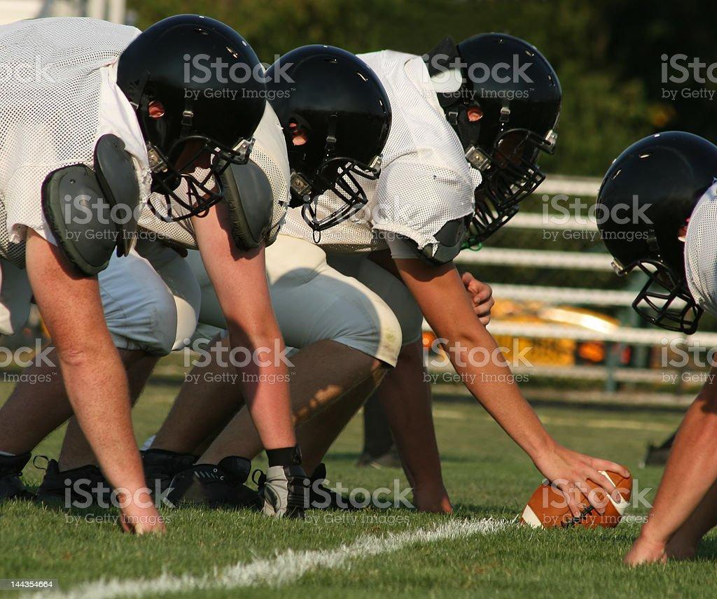 Football Line stock photo