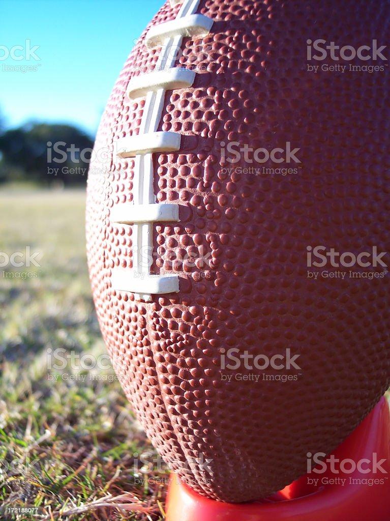Football Macro stock photo