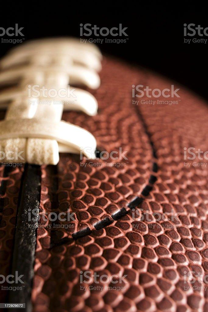 Football Macro royalty-free stock photo