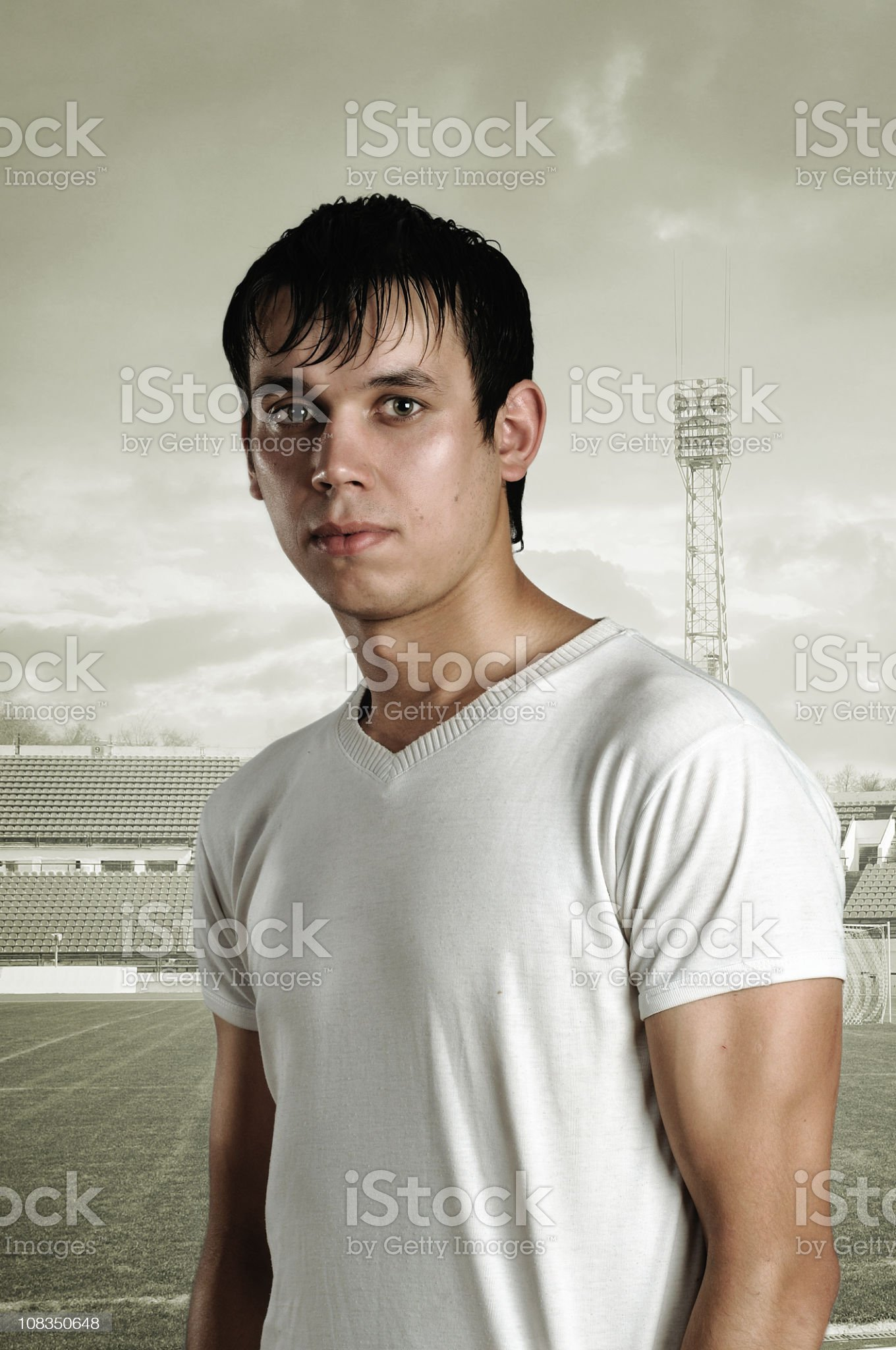 football man royalty-free stock photo