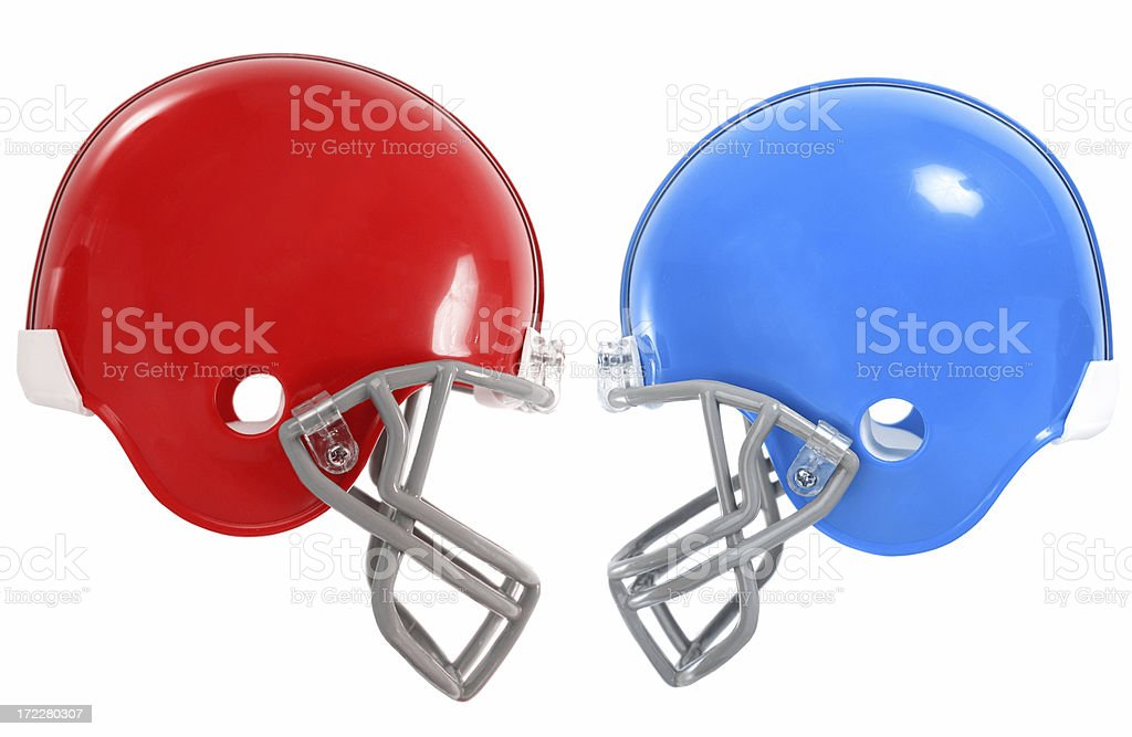 Football Matchup stock photo