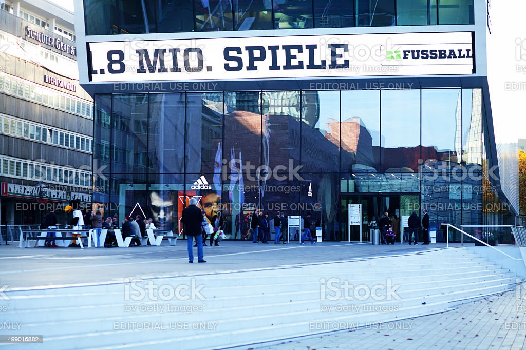 Football museum in Dortmund stock photo