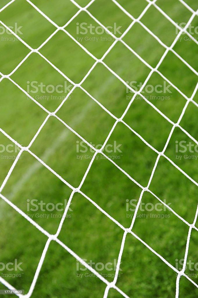 Football net royalty-free stock photo