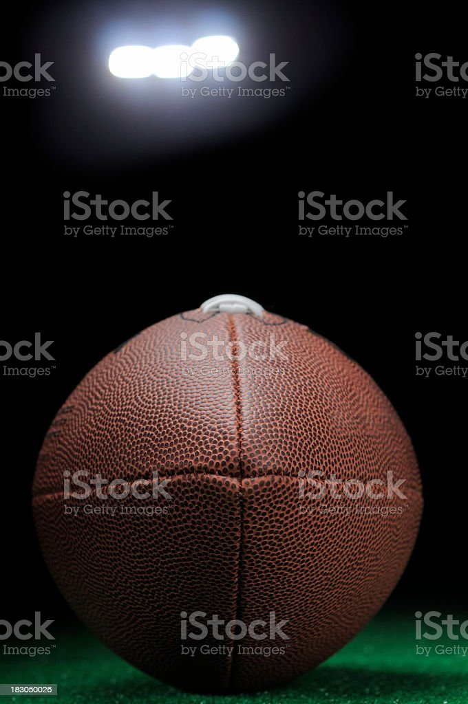 Football Night in America royalty-free stock photo