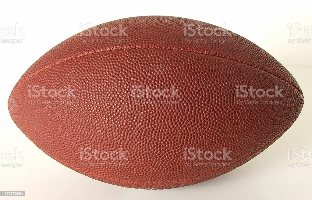 Football on White Background stock photo
