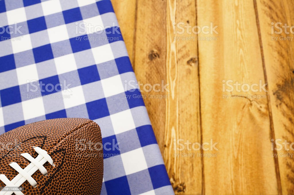 Football Party royalty-free stock photo