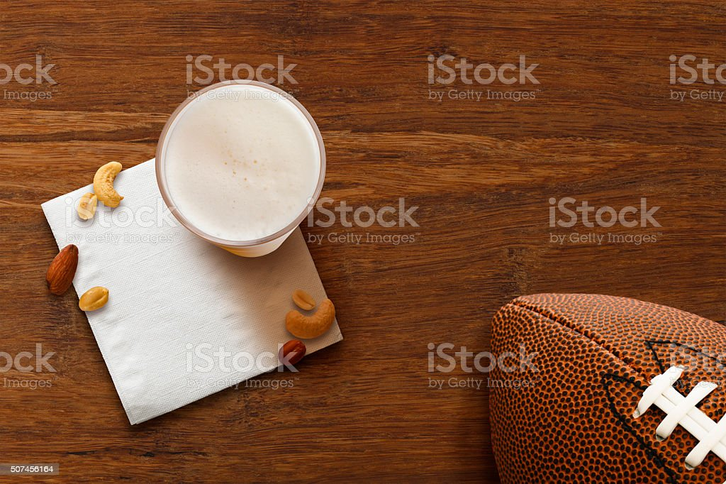 Football Party stock photo