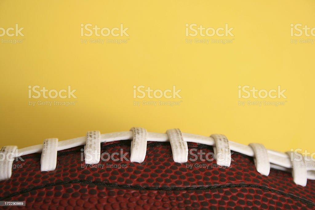 Football (Close Up) royalty-free stock photo