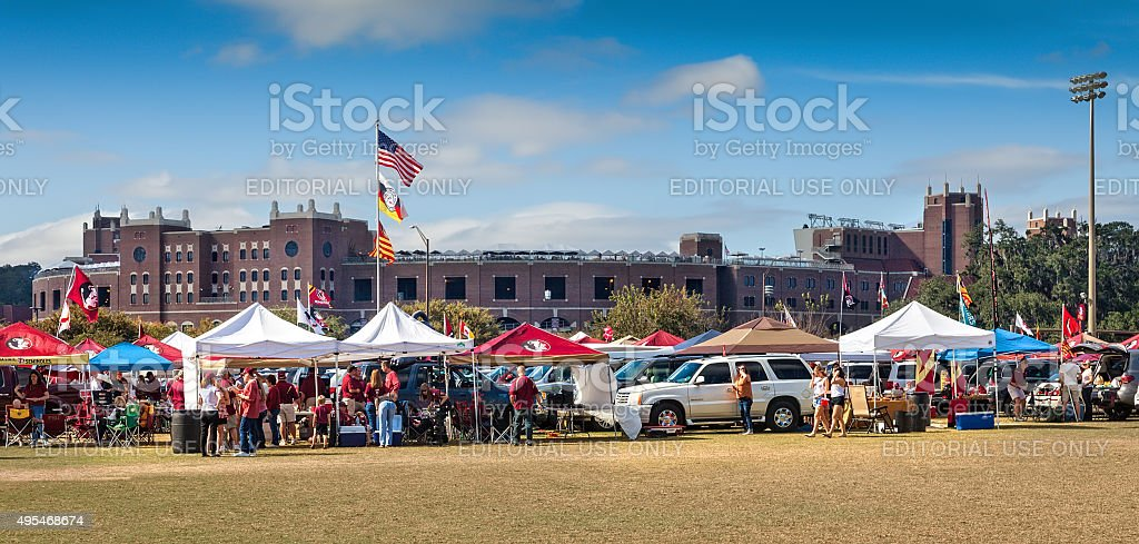 FSU Football stock photo