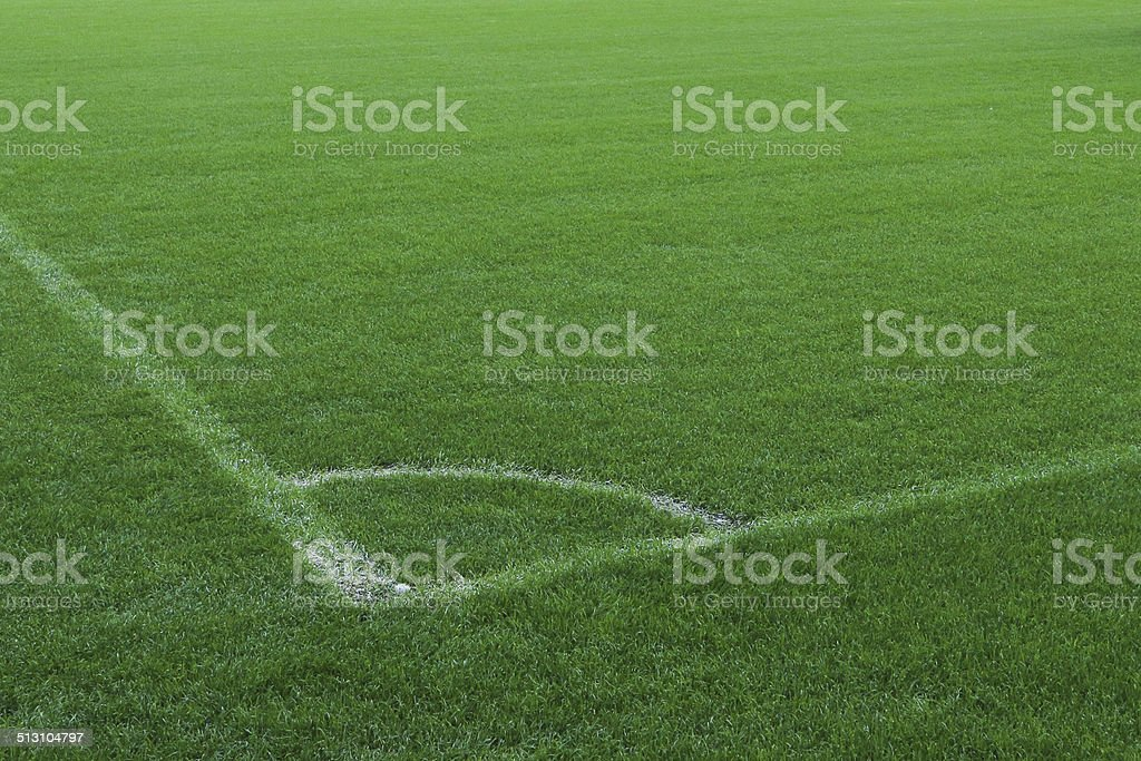 Football pitch royalty-free stock photo