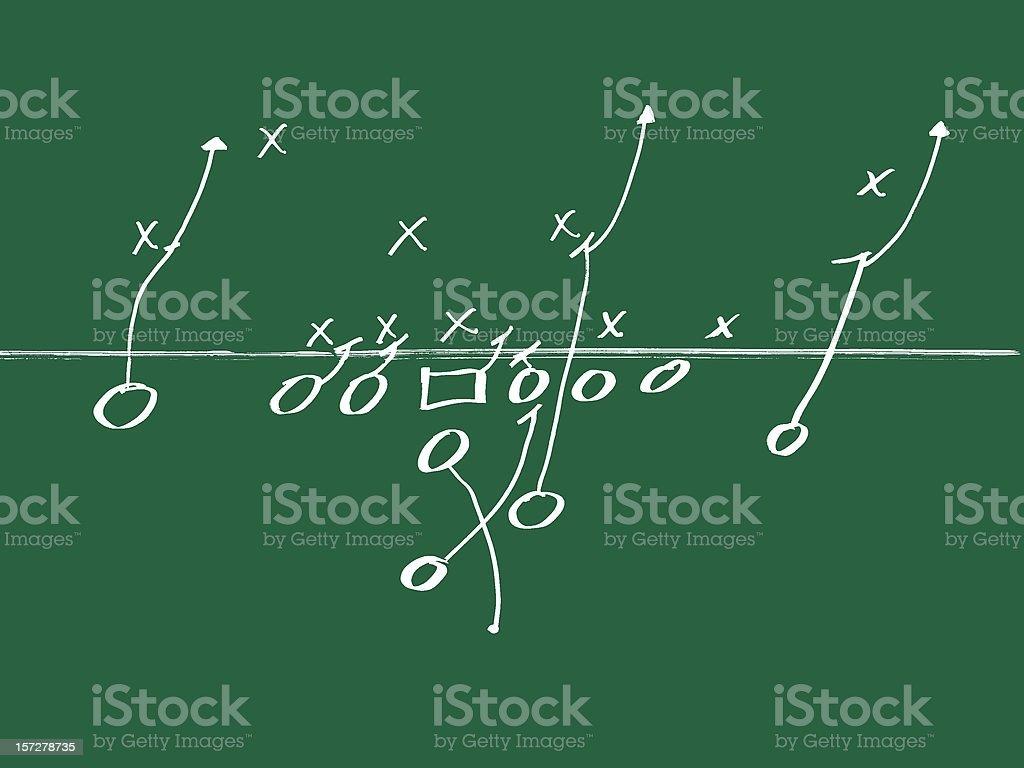 Football Play 1 royalty-free stock photo