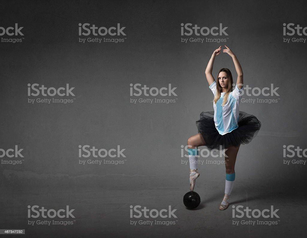 football player elegance concept stock photo