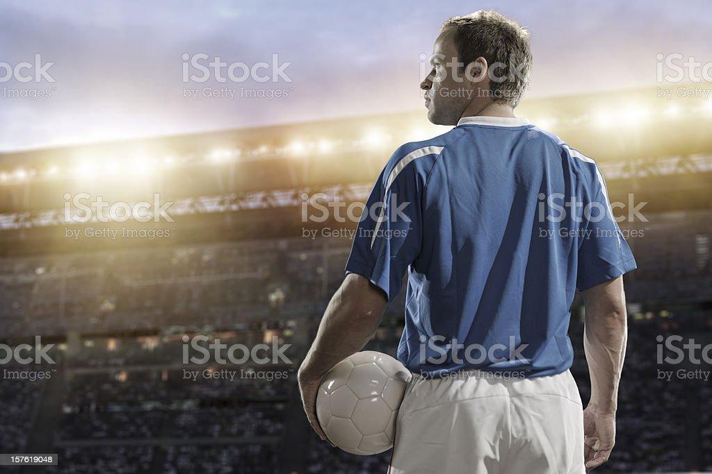 football player royalty-free stock photo
