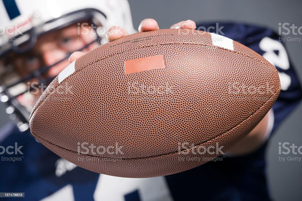 football player series royalty-free stock photo